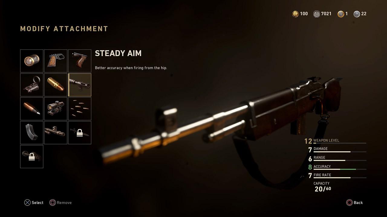 Steady Aim Level 7